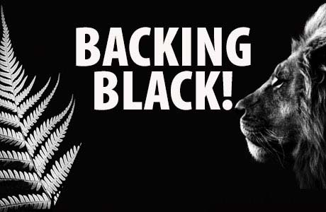 Backing Black